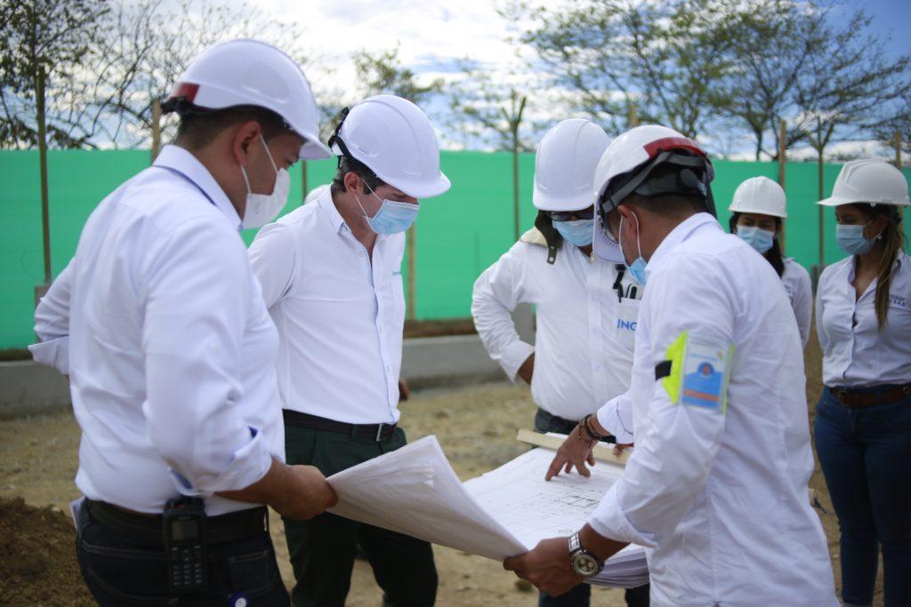 Electrohuila construye subestación eléctrica en el Juncal