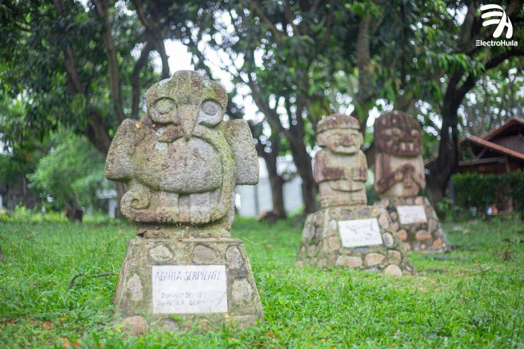 Galeria: Electrohuila tiene réplicas de las estatuas de San Agustín