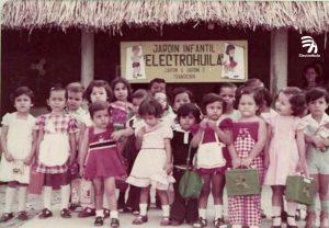 1978 estudiantes fundadores. Con el Nombre de Jardín Infantil Electrohuila se fundó el Colegio Asociación Cultural Electrohuila en el año de 1978, nace del interés de los trabajadores de #Electrohuila de contar con un centro educativo para la formación de sus hijos.