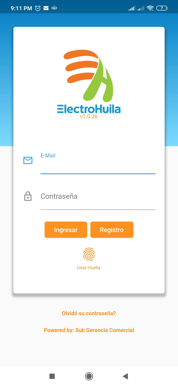 Descarga el App de electrohuila de manera fácil y rápida